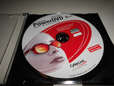 Cyberlink Power DVD 6 2ch incl. Key