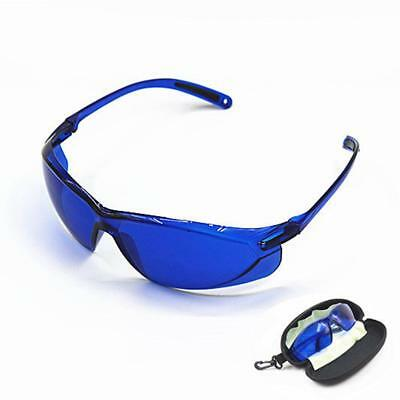 Blue IPL Beauty Protective Red Laser Safety Goggles Glasses 200-1200nm + Box