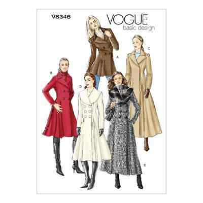 Vogue Sewing Pattern V8346 Misses' Coat