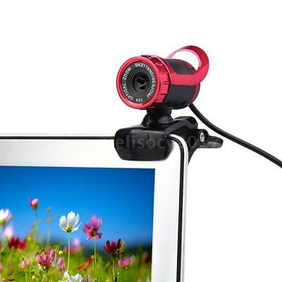 50 Megapixel HD Camera Web Cam 360 Degree with MIC Clip-on for PC Laptop E0B3