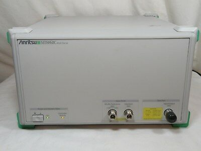 Anritsu MT8860C WLAN TEST SET w/OPTION 14 & 16 USED WORKS FINE