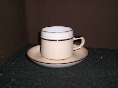 4 denby romance cups and saucers