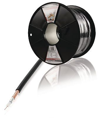 Konig 100m RG 59 Professional Coaxial Cable - Black
