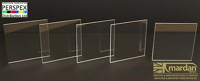 Acrylic Perspex® Clear Acrylic Cut Sheets - Cut Panels