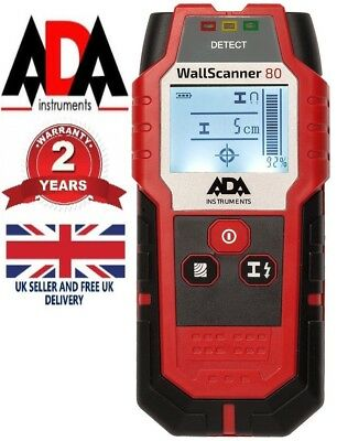 DETECTOR Wall Metal Cable Center Finder Live Wire Stud Wood Scanner RADAR ADA