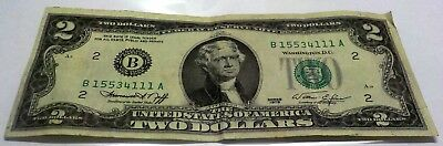 1976 Two Dollar United States Note Us Currency