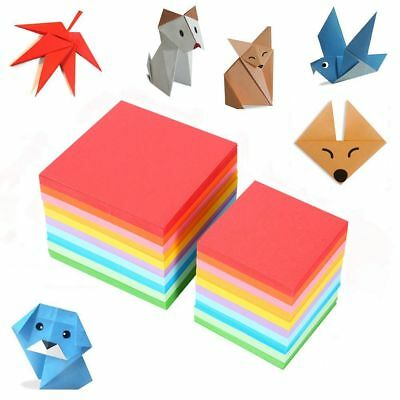 520pcs Colorful Square Double Sided Origami Folding Lucky Wish Paper Craft Paper