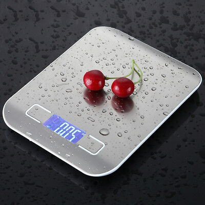 Salter Digital Kitchen Scale 5kg Stainless Steel Cooking Food Weighing Scale FQ1