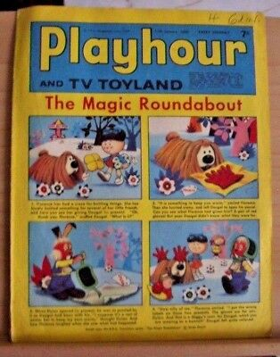 IPC Magazines Presents Playhour and TV Toyland  Jan 11th 1969 (Silver Age)