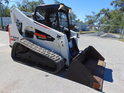 2012 Bobcat T-750 Turbo Skid Steer Track Loader - Best Shipping Rates