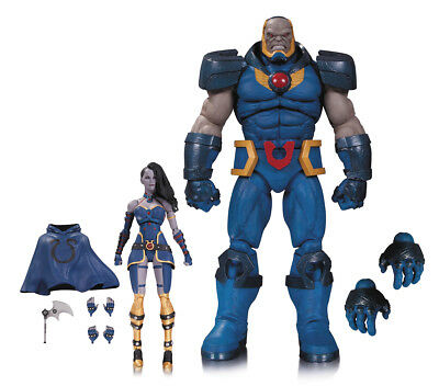 DC Comics Icons - Darkseid and Grail Action Figure 2 Pack - UK Seller