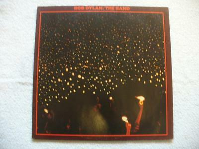 "BOB DYLAN & THE BAND ""BEFORE THE FLOOD"" 1974 GER ORIGINAL LIVE DOPPEL-LP 1st"