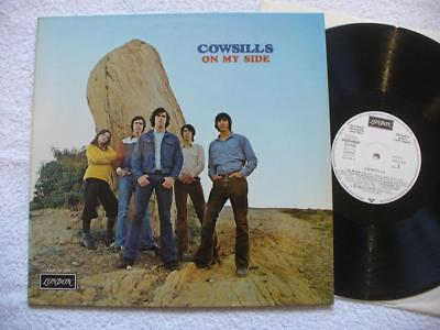 "COWSILLS ""ON MY SIDE"" RARE 1971 GER ORIGINAL WHLPROMO 1st PRESS LP TOP MINT-"