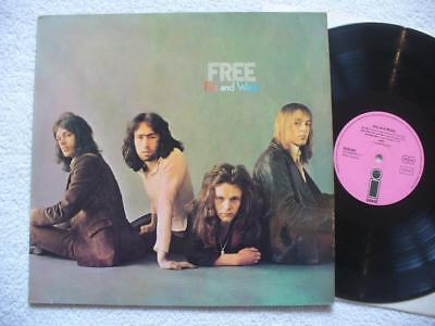 "FREE ""FIRE AND WATER"" VERY RARE 1970 GER ORIG. PINK ISLAND PHILIPS 1st PRESS LP"