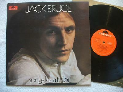 "Jack Bruce ""songs For A Taylor"" 1969 Uk Top Mint- Orig. Lp + Innersleeve Rare"