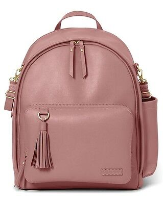 Skip Hop Greenwich Simply Chic Diaper Backpack (color Dusty Rose)!