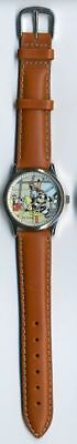 Horlogerie Droopy Montre, Tex Avery Droopy & Le Loup aviateur bracelet cuir Anav