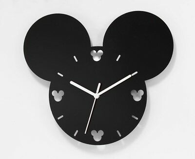 Large Mickey Mouse Style Wall Clock Acrylic Modern Living Room, Bedroom