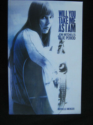 "JONI MITCHELL - WILL YOU ASK ME AS I AM / BLUE PERIOD, Buch, 240 Seiten  !""""""""!"