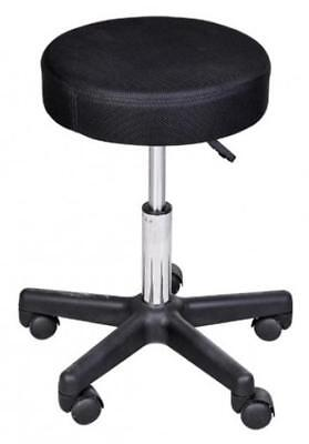 ADJUSTABLE Salon BEAUTY Parlors Spa Anti Slip Wheels Swivel Lightweight Stool