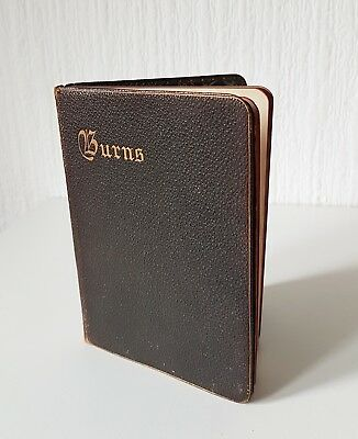 Antique 1896 The Poetical Works Of Robert Burns Published By Henry Frowde