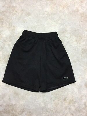 C9 Champion Boys Black Mesh Athletic Shorts Sz S 6-7 EUC