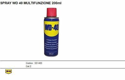 BOMBOLETTA SPRAY WD 40 MULTIFUNZIONE 200ml  S51400