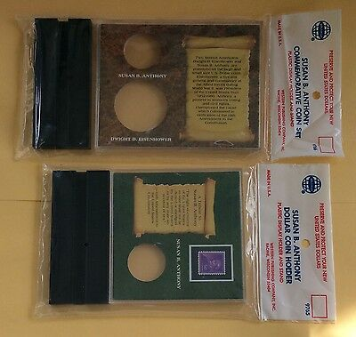 Susan B Anthony Ike Whitman Coin Holders 9765 & 9766 Lot Of 100 Packages 50 Each