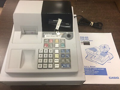 Casio PCR-255 Cash Register