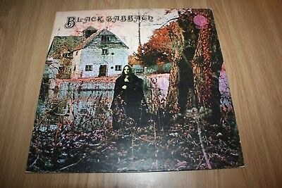Black Sabbath - Self Titled Large Swirl - Uk - Very Good++