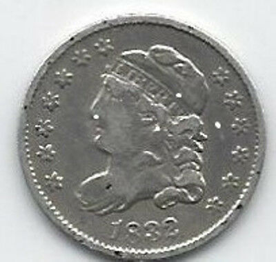 1832-Liberty-Capped-Bust-Silver-Half-Dime-5c-US-Coin