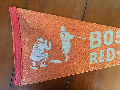 Very Old Boston Red Sox Baseball pennant Vintage Antique