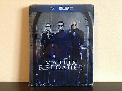 The Matrix reloaded - limited edition steelbook (Blu-ray) *BRAND NEW*