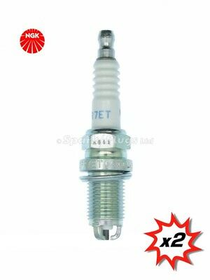 Candele 2x NGK SPARK PLUGS PART NUMBER bcpr7e STOCK NO 1272 NUOVO ORIGINALE NGK sparkplugs