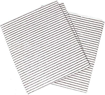 2 Pack Universal Cooker Hood Extractor Grease Filter Paper Saturation Indicator