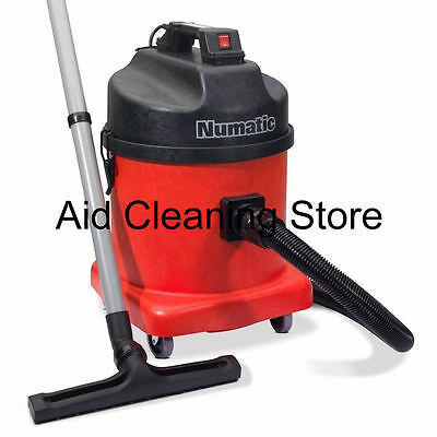 110V Numatic NVDQ570-2 Twin Motor Dry LARGE Industrial Commercial SITE Vacuum