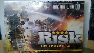 Doctor Who Risk The Dalek Invasion of Earth Board Game