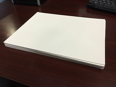"Teslin Synthetic Paper (SPID 1000) 10 mil 8.5"" x 11""  75 SHEETS + extra"