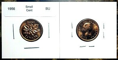 Canada 1956 Small Cent Choice to Gem BU UNC MS Red!!