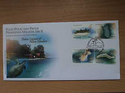 Malaysia 2003 28 Jun FDC Islands and Beaches Series 2 Ligitan & Sipadan