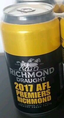 (Empty) 2017 Richmond Draught Premiership Can Limited Edition