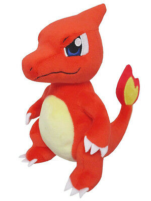 "1x New Sanei Pokemon Sun & Moon All Star (PP77) Charmeleon 7"" Stuffed Plush Doll"