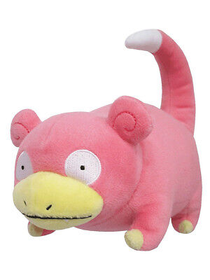 "1x New Sanei Pokemon Sun & Moon All Star (PP81) Slowpoke 7"" Stuffed Plush Doll"