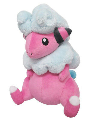 "1x New Sanei Pokemon Sun & Moon All Star (PP83) Flaaffy 7.5"" Stuffed Plush Doll"