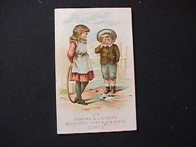 C.h.terbell, Fancy Groceries & Provisions, Port Jervis, N.y. Soap Trade Card