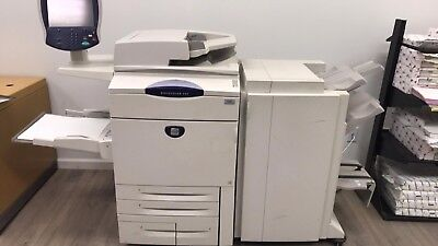 Xerox Docucolor 252 Color Printer Copier with 2 new full sets of toner and more