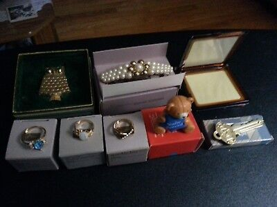Vintage lot of 8 Avon jewelry in the original boxes