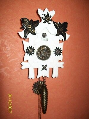 Antique working Black Forest Wall Mounted Small Cuckoo Clock/made in Germany