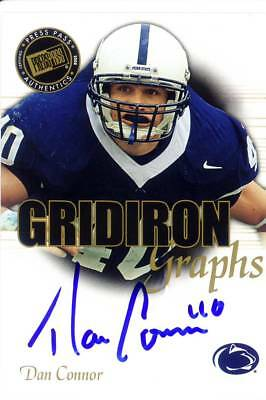 503a432dc3d dan connor rc rookie draft auto autograph penn state psu nittany lions  college