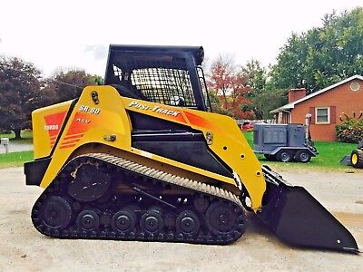 Asv Sr-80 Posi Track Compact Track Rubber Loader High Flow Aux Hydros Bob Cat